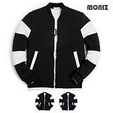[모니즈] MONIZ  소매절개 엠보 블루종 BJP143