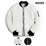 [모니즈] MONIZ  와이엠보 소매지퍼 블루종 BJP142