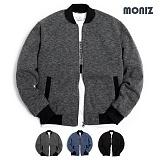 [모니즈] MONIZ  스노우 니트 블루종 BJP119