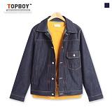 [탑보이] TOPBOY - 워크핀턱 데님자켓 (SU536)