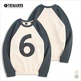 [테너티] 남녀공용 3단쭈리 나그랑 6 맨투맨 (T043)