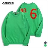 [테너티] 남녀공용 3단쭈리 NO.6 맨투맨 (T022)