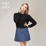 폴앤폴 - 청 후레아 데님 스커트(여) act-N936