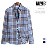 [뉴비스] NUVIIS - 은하수 체크 긴팔셔츠 (JS027SH)