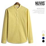 [뉴비스] NUVIIS - 썬 헨리넥 긴팔셔츠 (JS031SH)