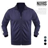 [뉴비스] NUVIIS - 사이드 라인 집업 점퍼 (MZ061JP)