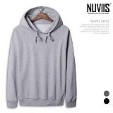 [뉴비스] NUVIIS - 타운트 심플 후드 티셔츠 (MZ059HD)
