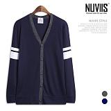 [뉴비스] NUVIIS - 양소매 두줄 버튼 가디건 (RM060CD)