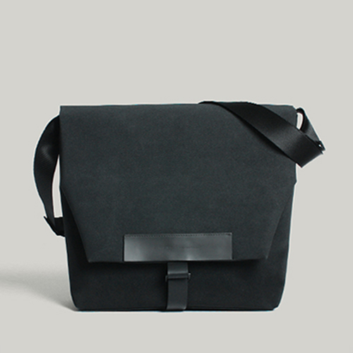 [마테마틱]MATHEMATIK - Euclid M30 Messenger & Shoulder Black 유클리드 메신저백