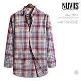[뉴비스] NUVIIS - 멀티 체크 긴팔셔츠 (MS040SH)
