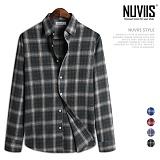 [뉴비스] NUVIIS - 샤방 체크 긴팔 셔츠 (JS038SH)