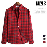 [뉴비스] NUVIIS - 지프 체크 긴팔 셔츠 (JS036SH)