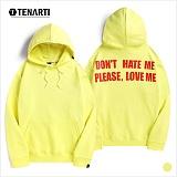[테너티] 남녀공용 옐로우 후드티 (T045)
