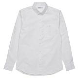 [비스폰지]beasponge - 옥스포드 베이직 셔츠 - 화이트 남방