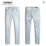 [탑보이] TOPBOY - 아이스 워싱 데님팬츠 (SN093) 청바지