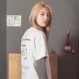 [라지크] RAZK - PIC-LETTER T-SHIRT (WHITE) 반팔 반팔티 티셔츠