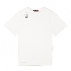 [라지크] RAZK X FLATFITTY - R.W.R.A T-SHIRT (WHITE) 반팔 반팔티 티셔츠 플랫피티 콜라보