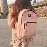 [에이비로드]ABROAD - Classic Backpack 2 (baby pink) 클래식2 백팩 베이비 핑크