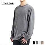[Brenson]브렌슨 - 루즈핏 니트 사이드 트임 티셔츠 4컬러