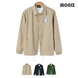 [모니즈] MONIZ  USA 면 코치자켓 JPW207