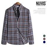 [뉴비스] NUVIIS - 스프링 체크 긴팔셔츠 (JS042SH)