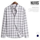 [뉴비스] NUVIIS - 붐 체크 긴팔셔츠 (JS041SH)