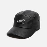 [피스메이커]PIECE MAKER - CLASSIC LEATHER CAMP CAP (BLACK) 볼캡 야구모자