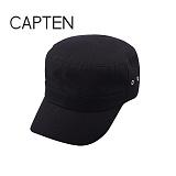 [캡텐] CAP10 더블아일렛 기병모 BLACK(BK57)
