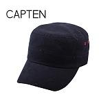 [캡텐] CAP10 디스트로이드 배색 기병모 BLACK(BK57)