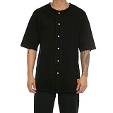 [크룩스앤캐슬]Crooks and Castles S/S BASEBALL JERSEY FURY BLACK 반팔남방 셔츠