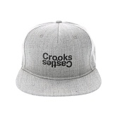 [크룩스앤캐슬]Crooks and Castles OPPOSITE SNAPBACK SPECKLE GREY 스냅백