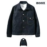 [모니즈] MONIZ  위크핀턱 청자켓 JKD046