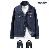 [모니즈] MONIZ  레터링 청자켓 JKD043