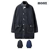 [모니즈] MONIZ  데님 롱자켓 JKD042