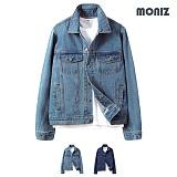 [모니즈] MONIZ  베이직 노멀 청자켓 JKD038