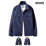 [모니즈] MONIZ  루프 청자켓 JKD036