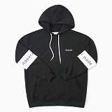 [어메이드] amade Compound Over Fit Hood Tee Black 후드 후디 후드티