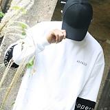 [블프특가][어메이드] amade Compound Over Fit Box Tee White 맨투맨 크루넥 스��셔츠