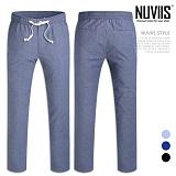 [뉴비스] NUVIIS - 베이직 컬러 밴딩 팬츠 (WS061LPN)