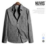 뉴비스 - 이트 심플 긴팔 셔츠 (MS056SH)