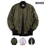 [모니즈] MONIZ  플랩포켓 항공점퍼 BJP281