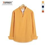 [탑보이] TOPBOY - 베이직 쭈글 긴팔셔츠 (ZT108)
