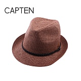 CAP10 - 고착사 페도라 BROWN(BR57)