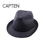 CAP10 - 고착사 페도라 BLACK(BK57)