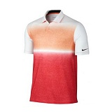 나이키 맨즈 골프 기능성 카라 반팔 티셔츠 685721 843 화이트(오렌지) 남녀공용 NIKE