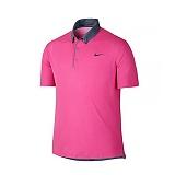 나이키 맨즈 클래식 골프 카라 반팔 티셔츠 685729 667 핑크 남녀공용 NIKE