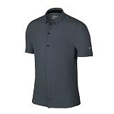 나이키 맨즈 클래식 카라 반팔 티셔츠 725509 010 딥차콜 남녀공용 NIKE