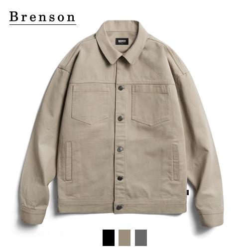 브렌슨 - 가먼트워싱 코튼 트러커 자켓
