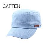 [캡텐] CAP10 청지 퀄팅 기병모 LIGHT BLUE(LL57)