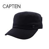 [캡텐] CAP10 뒷변 주머니 D링 포인트 기병모 BLACK(BK57)